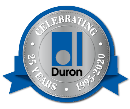 Celebrating 25 years with duron
