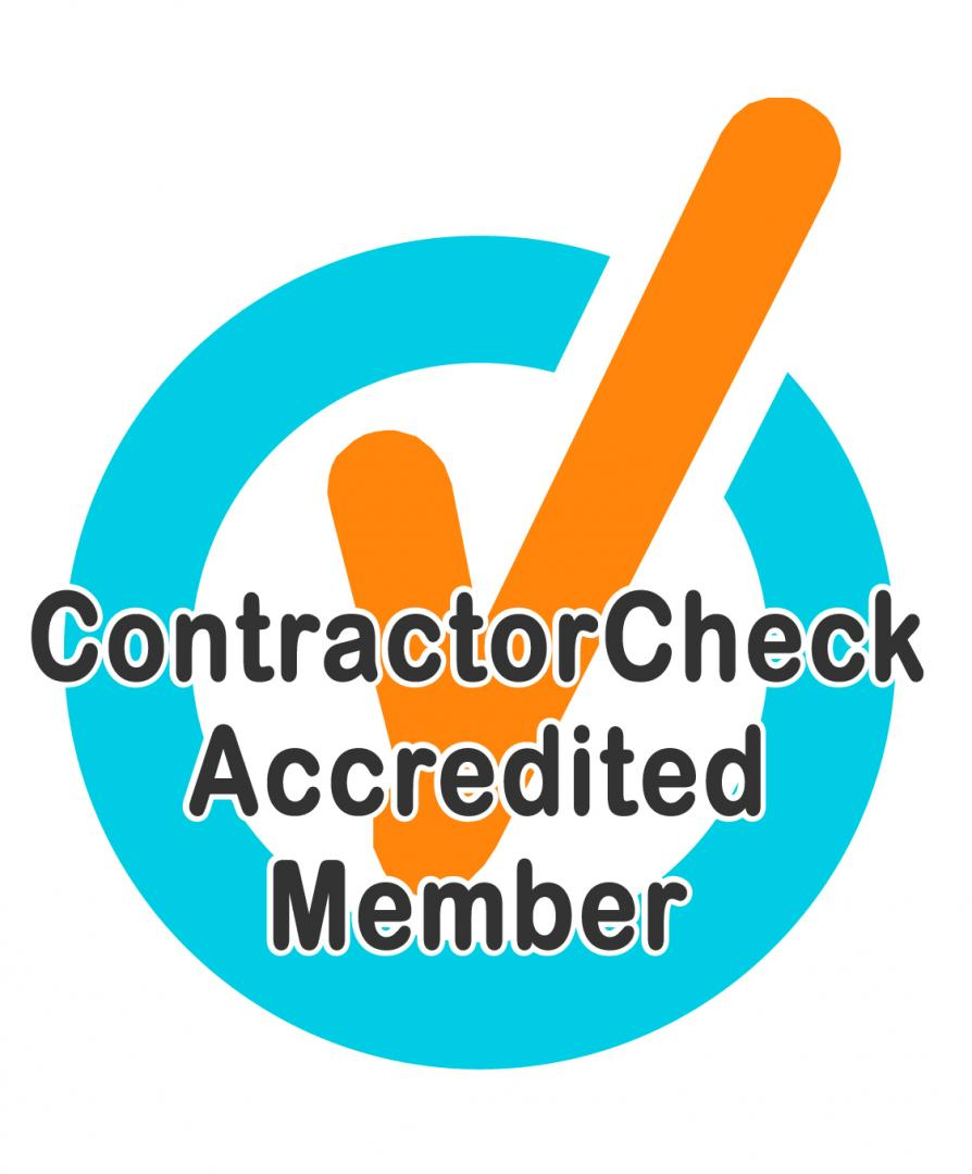 Contractor Checked Logo